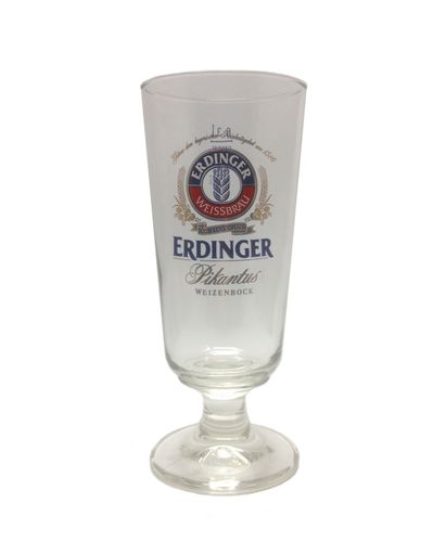 "Erdinger - German Beer Glass 0.3 Liter - ""Pikantus"" - NEW"