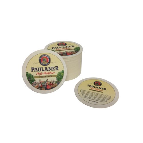 Paulaner - bavarian / german coasters - pack of 50 - NEW