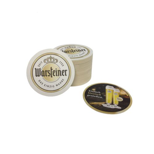 Warsteiner - german coasters - pack of 50 - NEW