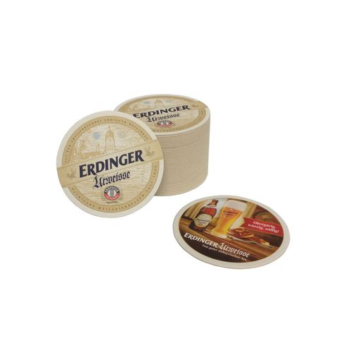 "Erdinger ""Urweisse"" - bavarian / german coasters - pack of 40 - NEW"