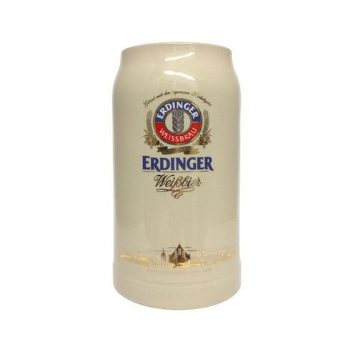 "Erdinger - German Beer Stein 1.0 Liter - ""Oktoberfest"" - NEW"