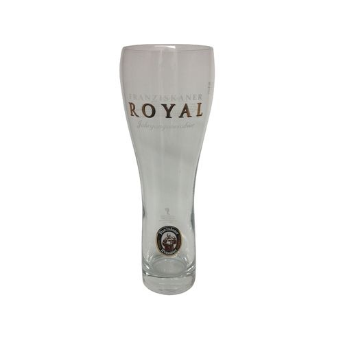"Franziskaner - German Beer Glass - 0.5 Liter - ""Royal"" - NEW"
