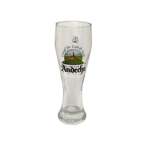 "Kloster Andechs - Bavarian / German Beer Glass - 0.3 Liter - ""Weissbier"" - NEW"
