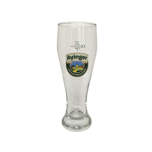 "Ayinger - Bavarian / German Beer Glass - 0.3 Liter - ""Weissbier"" - NEW"