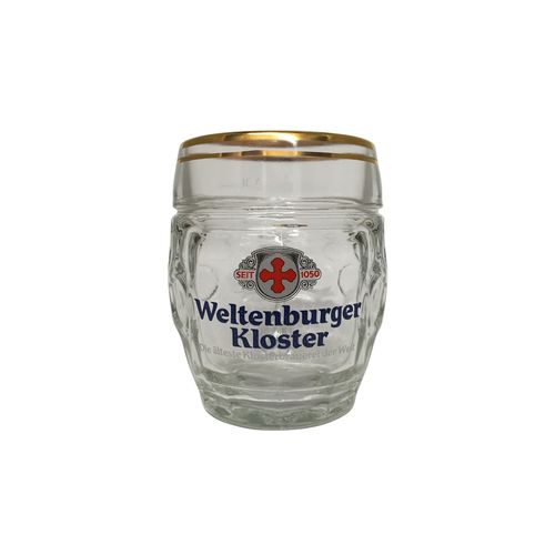 Weltenburger Kloster - German / Bavarian Beer Glass / Stein / Mug 0.5 Liter - NEW