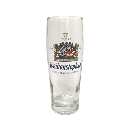 "Weihenstephan - German Beer Glass - 0.5 Liter - ""Becher"" - NEW"