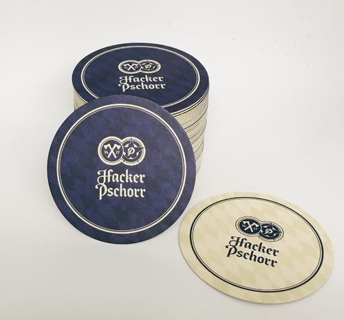 Hacker Pschorr (Munich) - bavarian / german coasters - pack of 50 - NEW