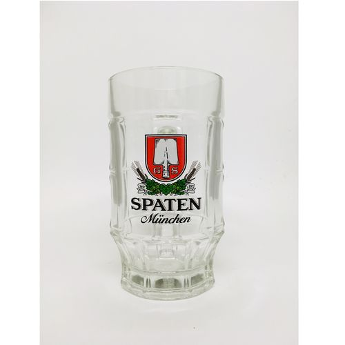 "Spaten Munich - German / Bavarian Beer Glass / Stein - 0.3 Liter - ""Krug"" - NEW"