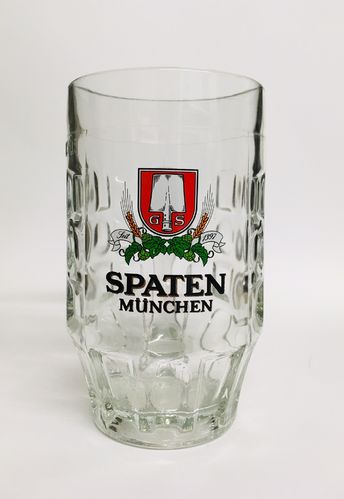 "Spaten Munich - German / Bavarian Beer Glass / Stein - 0.5 Liter - ""Krug"" - NEW"