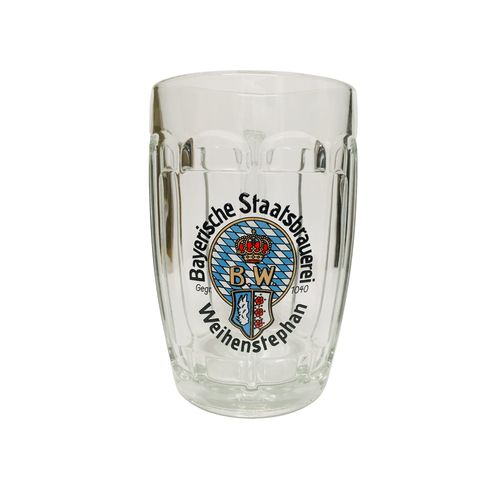 Weihenstephan - German / Bavarian Beer Glass / Stein / Mug 0.5 Liter - NEW