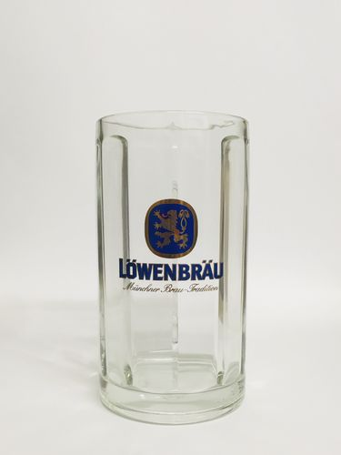 Lowenbrau - German / Bavarian Beer Glass / Stein / Mug 0.5 Liter - NEW