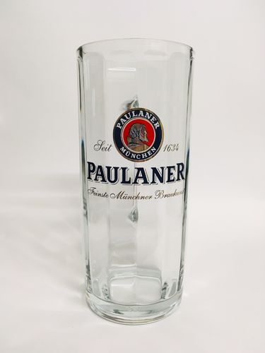 Paulaner - German / Bavarian Beer Glass / Stein / Mug 0.5 Liter - NEW