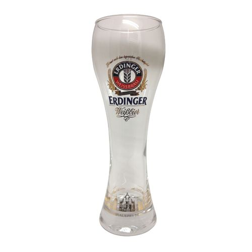 "Erdinger - set of 6 - German / Bavarian Beer Glasses 0.5 Liter - ""Weissbier"" - NEW"
