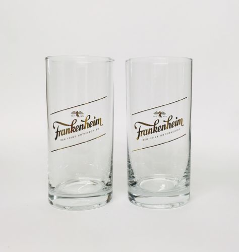 Frankenheim Alt (Dusseldorf) - set of 2 - German Beer Glasses 0.2 Liter - NEW