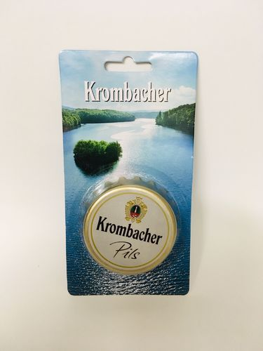 "Krombacher - german bottle opener - ""bottle cap"" - NEW"