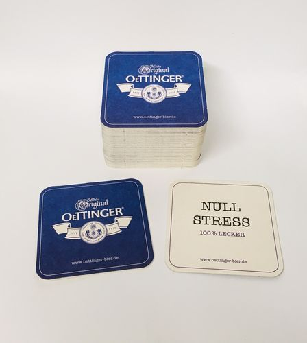 Oettinger - bavarian / german coasters - pack of 50 - NEW