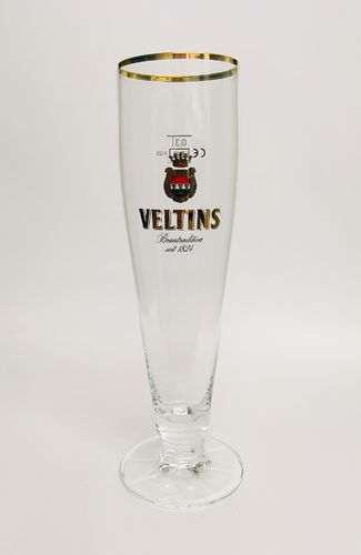 "Veltins - German Beer Glass - 0.3 Liter - ""Pokal"" - NEW"