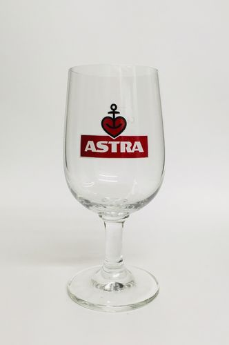 "Astra (Hamburg) - German Beer Glass - 0.2 Liter - ""Pils"" - NEW"